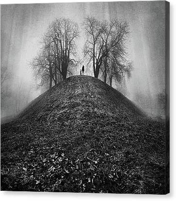 A Hope For The Eternal Presence Of Distant Places Canvas Print by Ioannis Lelakis
