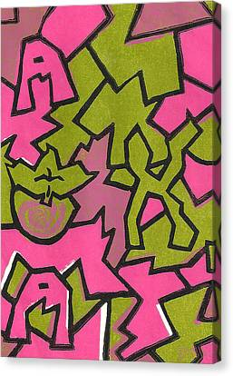 A K A Abstract Canvas Print by BFly Designs