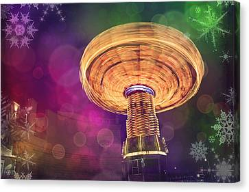 A Light Spin Canvas Print by Carol Japp