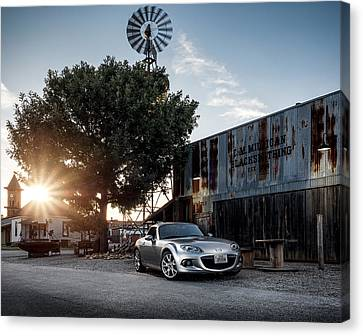 Little Drop Of Sunshine Canvas Print by Douglas Pittman
