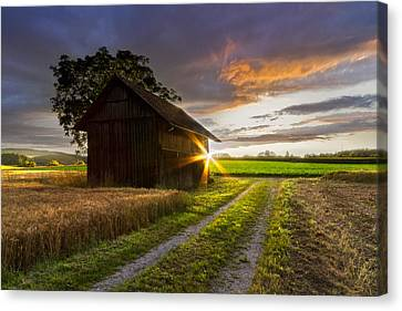 A Moment Like This Canvas Print by Debra and Dave Vanderlaan