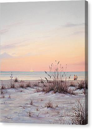A Morning Stroll Canvas Print by Joe Mandrick