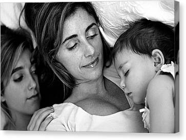 A Mother's Love Canvas Print by Kathy Yates