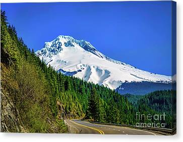 A Mountain Called Hood Canvas Print by Jon Burch Photography