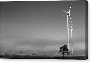 A New Day Canvas Print by Steve K