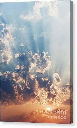 A New Day Canvas Print by Tim Gainey