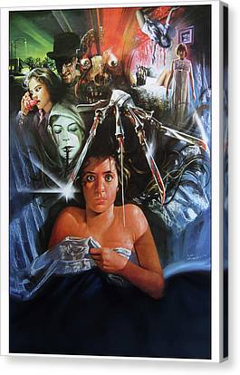A Nightmare On Elm Street 1984 Canvas Print by Caio Caldas