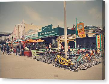 A Perfect Day For A Ride Canvas Print by Laurie Search