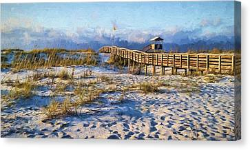 A Perfect Morning Canvas Print by JC Findley