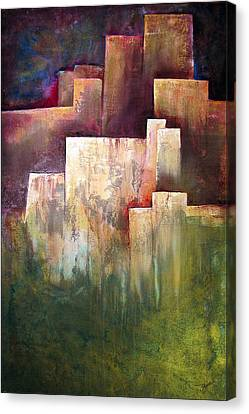 A Place For Solace Canvas Print by Shadia Zayed