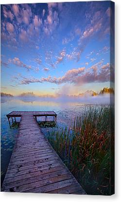 A Place Of Quiet Reflection Canvas Print by Phil Koch