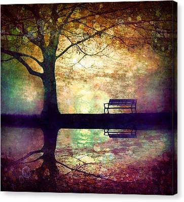 A Place To Rest In The Dark Canvas Print by Tara Turner