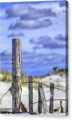 A Posting From Panama City Beach Canvas Print by JC Findley