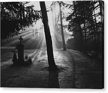 A Quiet Sunrise Canvas Print by Mountain Dreams