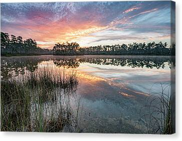 A Rainbow Of Colors Canvas Print by Jon Glaser