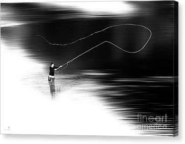 A River Runs Through It Canvas Print by Hannes Cmarits