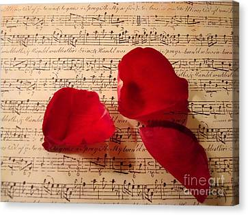 A Romantic Note Canvas Print by Kathy Bucari
