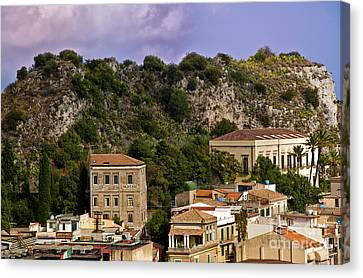 A Sicily View Canvas Print by Madeline Ellis