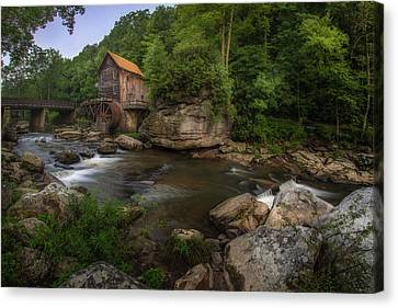 Glade Creek Grist Mill, West Virginia, Usa Canvas Print by Joseph Heh