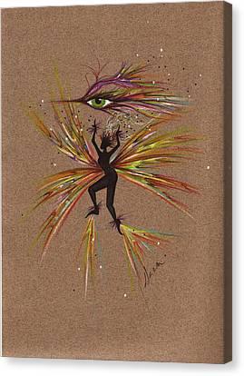 A Snit.... Canvas Print by Dawn Fairies