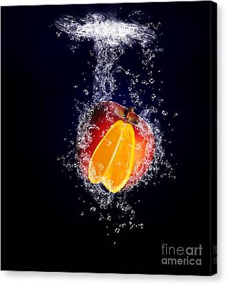 A Splash Of Difference Canvas Print by Jorgo Photography - Wall Art Gallery