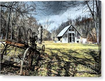 A Spring Time Story # 2 Canvas Print by Mel Steinhauer
