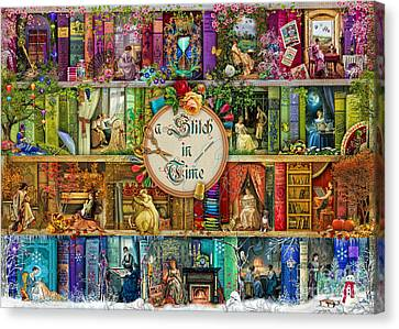 A Stitch In Time Canvas Print by Aimee Stewart