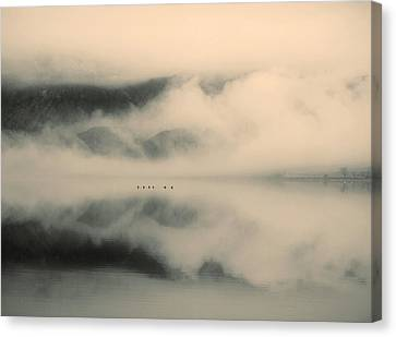 A Study Of Clouds Canvas Print by Tara Turner
