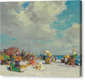 A Summer Afternoon Canvas Print by Edward Henry Potthast