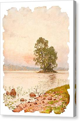 A Summer Evening Canvas Print by Celestial Images