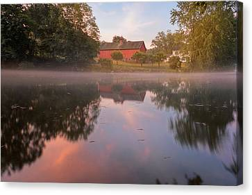 A Summer Morning Canvas Print by Bill Wakeley