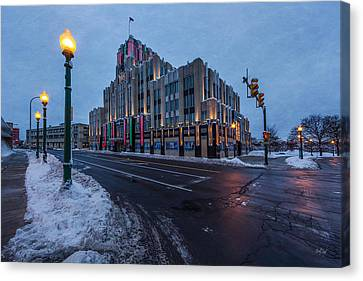 A Syracuse Beacon Canvas Print by Everet Regal