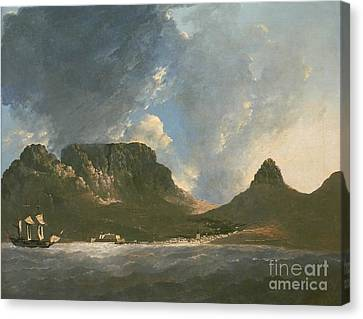 A View Of The Cape Of Good Hope Canvas Print by Celestial Images