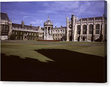 A View Of The Courtyard Of Trinity Canvas Print by Taylor S. Kennedy