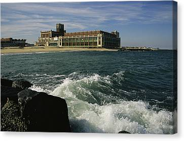 A View Of The Seaside Convention Center Canvas Print by Ira Block