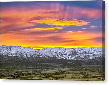 A Waking World Canvas Print by Steve Baranek