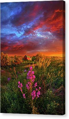 A Wisconsin Story Canvas Print by Phil Koch