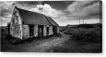 Abandoned Bothy Canvas Print by Dave Bowman