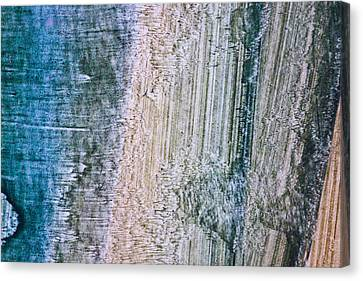 Aberration Mapping Canvas Print by Ryan Kelly