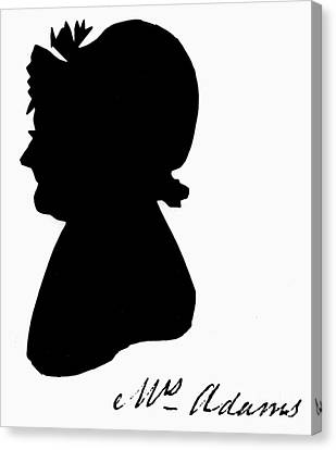 Abigail Adams Canvas Print by The Granger Collection