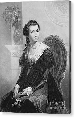 Abigail Smith Adams Canvas Print by American School