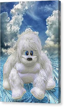 Abominable Canvas Print by John Haldane