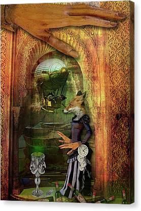 Absinthe Of Faith Canvas Print by Deile Smith