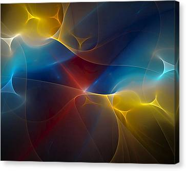 Abstract 060410 Canvas Print by David Lane