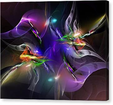 Abstract 112211 Canvas Print by David Lane