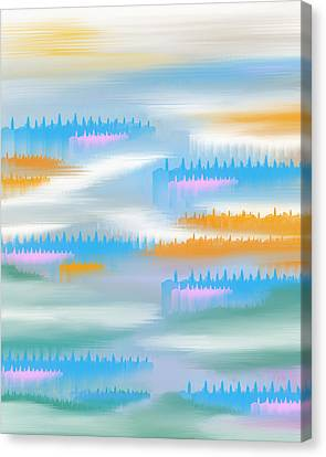 Abstract 17 Canvas Print by Art Spectrum