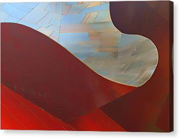 Abstract - 2 - Emp - Seattle Canvas Print by Nikolyn McDonald