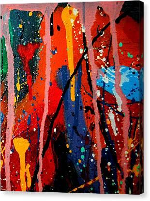 Abstract 3  Canvas Print by John  Nolan