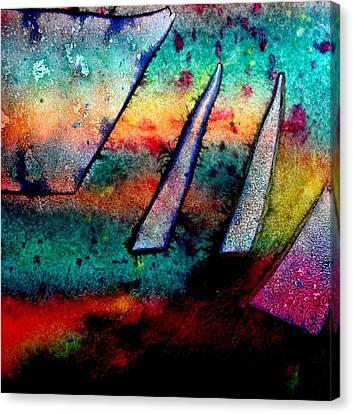 Abstract 32 Canvas Print by John  Nolan