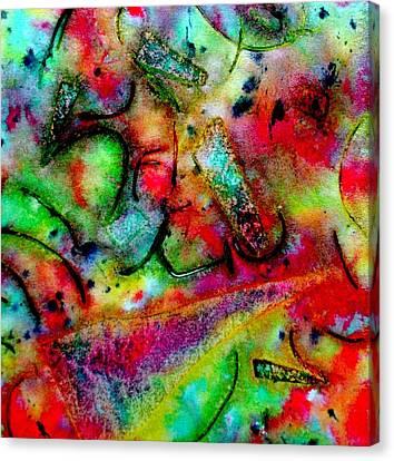 Abstract 37 Canvas Print by John  Nolan